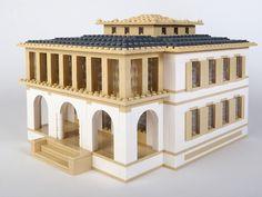 Villa Ehinger, Münchenstein Architektur mit LEGO | Architecture with LEGO bricks.