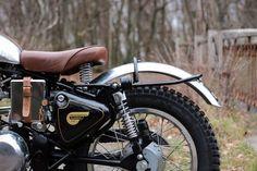 TRIALS & TRANSFORMATIONS. BAAK Motocyclette's '1960' Royal Enfield Trials Racer - Pipeburn.com