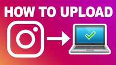 How To Upload Images And Videos On Instagram On Laptop Make Money Blogging, Make Money From Home, Make Money Online, How To Make Money, Online Marketing Strategies, Affiliate Marketing, Instagram Direct Message, Video L, Upload Image