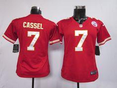 Women's Nike NFL Kansas City Chiefs #7 Matt Cassel Red Jerseys
