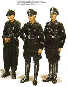 Uniformes de la SS.