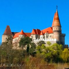 Corwin castle, Romania Travelling, Castle, Mansions, House Styles, World, Home Decor, Decoration Home, Manor Houses, Room Decor