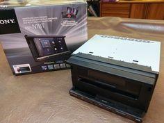 Sony XSP-N1BT CD/MP3 Smartphone Cradle Car Audio Receiver Bluetooth XSPN1BT-USED