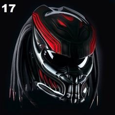 PREDATOR HELMET MOTORCYCLE DOT APPROVED
