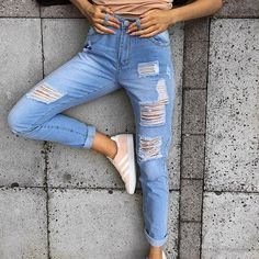 Ripped jeans heaven  LASULA LOVES