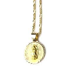 charlieandmarcelle shop savings blessed religious medal necklace virgin mary medallion tiny etsy charm on miraculous gold mother