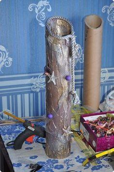напольная ваза Бумагопластика