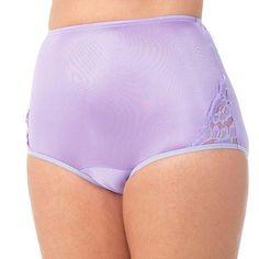 Vanity Fair Women's Perfectly Yours Lace Nouveau Brief purple