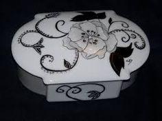 Résultats de recherche d'images pour «peinture sur porcelaine»