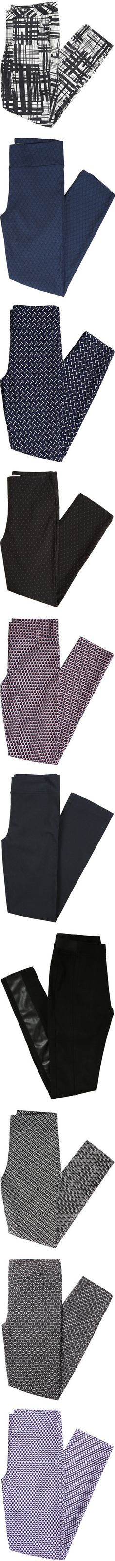 My black Emer pants are one of my favorite things to wear to work. I would love another pair or two in a solid or pattern.