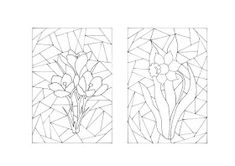Játékos tanulás és kreativitás: Anyák napi ajándékaink 2016. Stained Glass Quilt, Stained Glass Designs, Stained Glass Patterns, Border Embroidery Designs, Applique Quilt Patterns, Easter Colouring, Doodle Coloring, Heart Coloring Pages, Free Coloring Pages