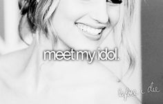 One Direction, Cher Lloyd, Zooey Deschanel, Carly Rae Jepsen, Ed Sheeran, Olly Murs, and The Wanted. I would love to meet ANY of them. xx (: