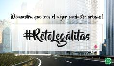 Porque si conduces por #ciudad y quieres la mejor protección al #volante, te lo mereces...  ;) #RetoLegálitas