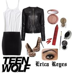 teen wolf wardrobe | Teen Wolf Inspired Style - Erica Reyes 01 - Polyvore