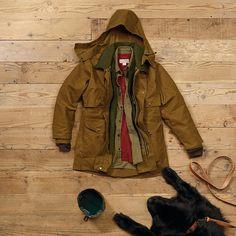 //\\ Filson Tin Packer Coat