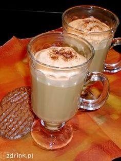 Mrożona kawa karaibska My Favorite Food, Favorite Recipes, Coffee Creamer, Chocolate, Glass Of Milk, Oreo, Smoothie, Latte, Food And Drink