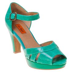 Buy Blue Green Black Red Miz Mooz Women's Logan Open-Toe Pump Shoe shoes