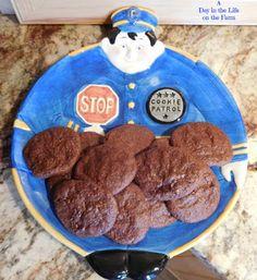 Fudgey Mint Cookies #Barleans #ImperialSugar