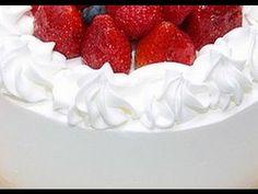 Como Hacer Crema Tipo Chantilly o Whipped Cream ✿◕‿◕✿