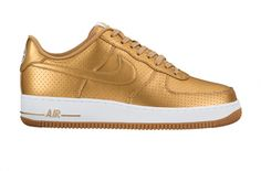 Metallic Finishes On The Nike Air Force 1 Low