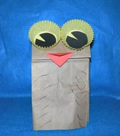paperbag puppets