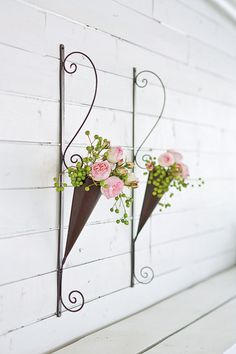 Cone Wall Planters $57.00