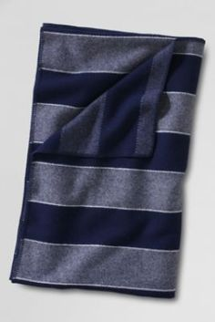 Pendleton Stripe Heather Wool Blanket from Lands' End: LOVE this!