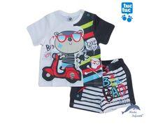 Conjunto de niño TUC TUC con bañador Baby Posters, Baby Prints, Baby Wearing, Boy Outfits, Kids Fashion, Baby Boy, David, Models, Children