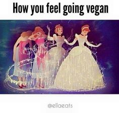 how you feel going #vegan More