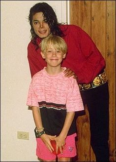 Macaulay Culkin & Michael Jackson