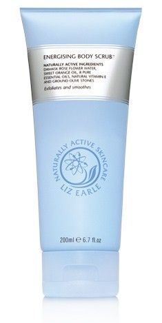 Liz Earle Energising Body Scrub - the best scrub I've found and packed with essential oils to wake you up in the morning