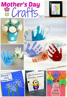 Mother's Day Crafts for Kids - The Realistic Mama