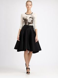 This skirt is like the king of the skirts. It's the skirt mothership!