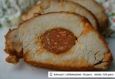 8 fogás, amelyből óriás adagot is lefőzhetsz egyszerre – ezek elállnak! Hungarian Recipes, Hungarian Food, Meat Recipes, Main Dishes, Bacon, Curry, Pork, Food And Drink, Lunch
