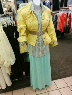Instead Of Yellow Jacket. Needs A Yellow Cardigan Instead.