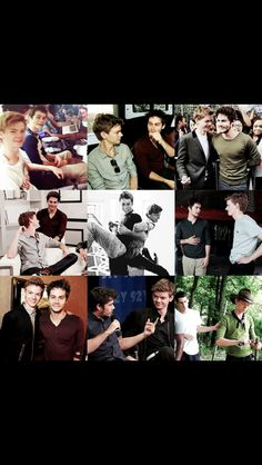 Thomas and dylan r adorable I ship it