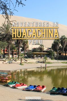 Planning an adventurous trip to Peru? Make sure to visit Huacachina to do the dune buggy rides and sandboarding! With its incredible sand dunes and stunning oasis town, you'll definitely enjoy your stay in Huacachina. Read more about our adventures in Huacachina here: