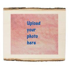 #rustic - #Rustic Wooden Photo Keepsake Panel