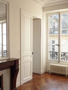 appartement parisien - Fenetre