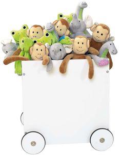 Jabadabado Förvaringslåda Leksaker Vit