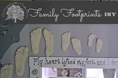 How to make Family Footprints