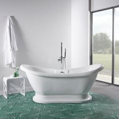 Soakology Ascot 1750mm Double Ended Slipper Bath now in the sale.