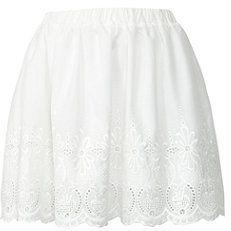 #newlook.com              #Skirt                    #Cream #Floral #Skater #Skirt                       Cream Floral Cut Out Skater Skirt                                             http://www.seapai.com/product.aspx?PID=1842661