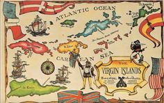 creques alley and the famous folk band the mamas and the papas island mapbritish virgin islandswest