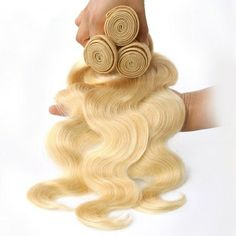 Wholesale 100% remy 613 blonde peruvian virgin hair