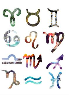 signos zodiacales tumblr - Buscar con Google