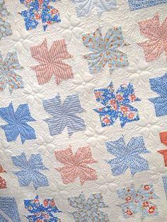 patterns Paris Flea Market Star Pattern D.