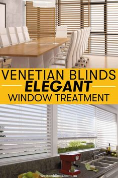Available in Timber, PVC and Aluminium options, Venetian Blinds are a classic, refreshing and natural alternative to both modern and traditional architecture. With the ability to close tightly, or open all the way up, Venetian blinds allow you to control light levels to suit any mood or occasion. With the added benefit of water resistance, Slimline aluminium Venetian Blinds also make it the perfect for kitchens and bathrooms. Elegant Curtains, Sheer Curtains, Modern Window Coverings, Blinds Online, French Country House, Venetian, Window Treatments, Benefit, Bathrooms