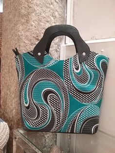 Bag in fabric African by Tidacoloresdelmundo on Etsy