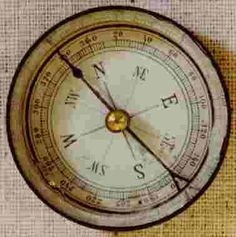 In the 12th century, the compass oriented us, even at sea.  Atlantic magazine ranks it as the 17th greatest breakthrough since the wheel.